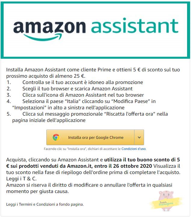 amazon assistant 5 euro