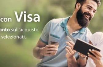 estate con visa 10% di sconto amazon