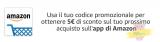 5 Euro di sconto con coupon se acquisti da App Amazon! Promo valida solo per due giorni!!