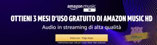 Amazon Music HD: scopri l'offerta prova 3 mesi d'uso gratuito!