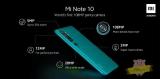 Xiaomi Mi Note 10 è il primo smartphone con 5 cam e la principale da 108 megapixel!