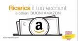 Ricarica l'account Amazon con 90€ e ricevi un buono sconto di 6€