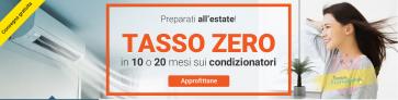 Incredibile promo Monclick: tasso zero sui condizionatori! E il caldo non fa più paura!