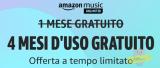 Amazon Music Unlimited: 4 mesi d'uso gratuito da non perdere!