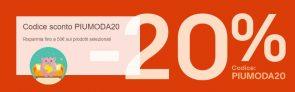 Tornano i super saldi di Ebay e PayPal: -20% di sconto sulla moda con il codice PIUMODA20