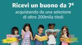 Promo culturale di Amazon: buono sconto di 7 Euro acquistando almeno 20 Euro di libri!