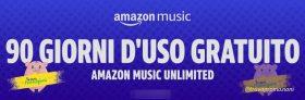Amazon Music Unlimited alla riscossa: 90 giorni di uso gratuito se lo attivi per la prima volta!