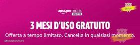 Amazon Music Unlimited sempre più conveniente con 3 mesi d'uso gratuito!