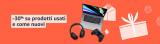 Offerte di settembre: torna il 30% di sconto Amazon Warehouse Deals
