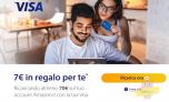 Buono Amazon da 7 Euro con una ricarica Visa da 70 Euro! Scopri la nuova promo!